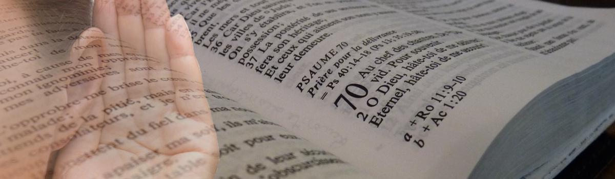 Ecoutez des messages sur la Bible !